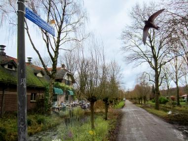 Oostbroekselaan idee waarbij de weg over het viaduct Varkensbocht verbonden wordt en een recreatieve route wordt. Met theehuis-infopunt?