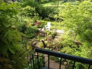 Vanaf het balkon